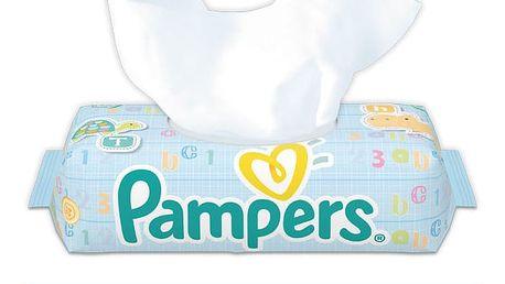 PAMPERS Fresh Clean 64 ks – vlhčené ubrousky
