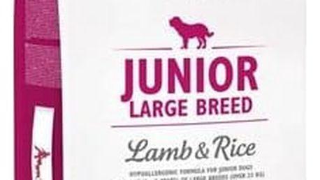 Granule Brit Care Junior Large Breed Lamb & Rice 12 kg Granule Brit Care Junior Large Breed Lamb & Rice 3 kg (zdarma) + Antiparazitní obojek za zvýhodněnou cenu + Doprava zdarma