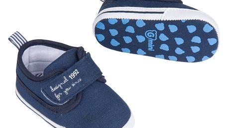 G-MINI Capáčky na suchý zip (vel. 3) - modrá