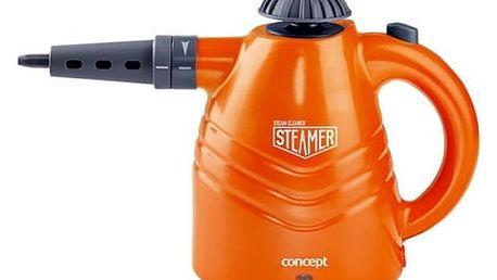 Parní čistič Concept CP-1001 oranžový