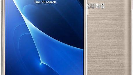 Samsung Galaxy J5 (2016) LTE, zlatá - SM-J510FZDUETL + Zdarma GSM reproduktor Accent Funky Sound, červená (v ceně 299,-)