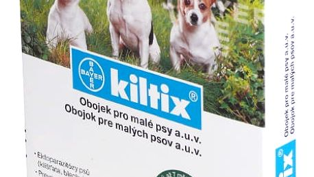 KILTIX Obojek proti blechám a klíšťatům pro malé psy 38 cm