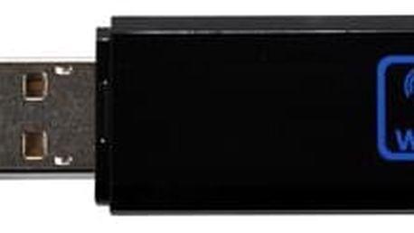 Adaptér GoGEN USBWIFI1, 30076109, 30081959 (GOGUSBWIFI1) černý