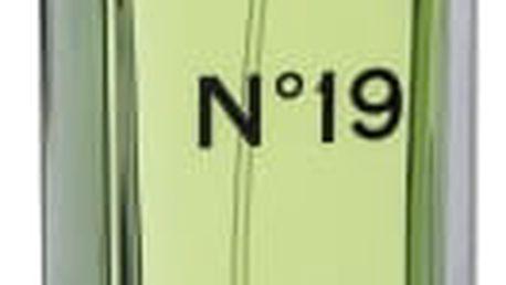 Chanel No. 19 100 ml toaletní voda tester pro ženy