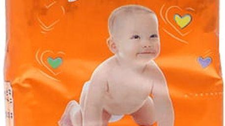 HAPPY MIMI dětské pleny Standard Maxi 50 ks