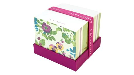 Bloček na poznámky Laura Ashley Parma Violets by Portico Designs, 570stránek