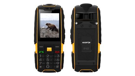 Mobilní telefon Aligator R20 eXtremo (AR20BY) černý/žlutý