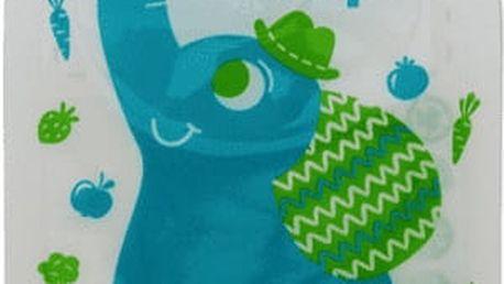 PETITE&MARS Kapsička na jídlo Papoo Slon - 6ks