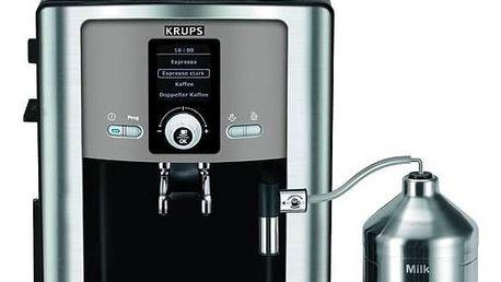 Espresso Krups Espresseria Automatic EA8050PE černé/titanium + Doprava zdarma