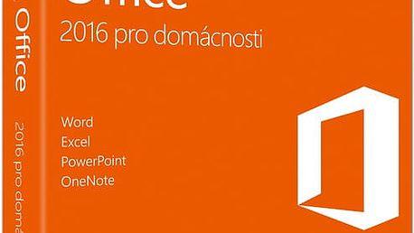 Microsoft Office 2016 pro domácnosti - 79G-04723