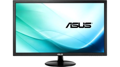 "ASUS VP247TA - LED monitor 24"" + Lifestyle U Watch U8 SmartWatch, černá"