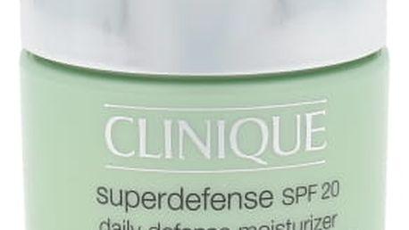 Clinique Superdefense Daily Defense Moisturizer SPF20 75 ml denní pleťový krém pro ženy