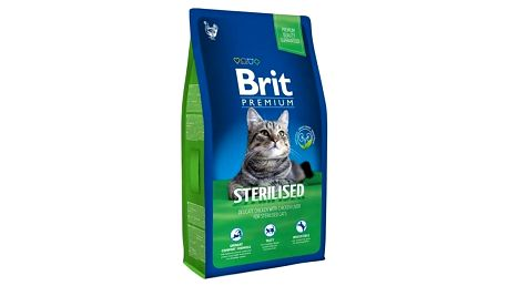 Granule Brit Premium Cat Sterilised 8kg