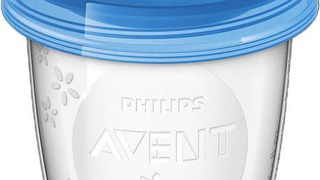 AVENT VIA pohárky s víčkem 180 ml - (5 ks)