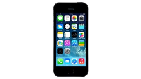 Mobilní telefon Apple iPhone 5s 16GB (ME432CS/A) šedý