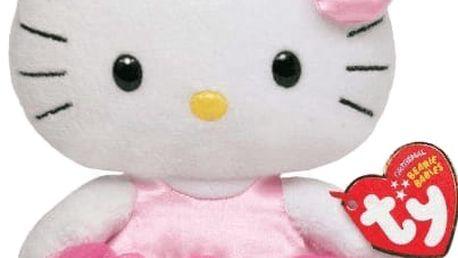 TY Beanie Babies LIC Hello kitty - balerína – (15 cm