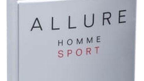 Chanel Allure Homme Sport 50 ml toaletní voda tester pro muže