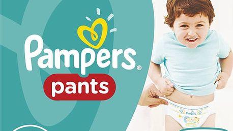 PAMPERS Pants 6, 88ks (16+ kg) MEGA Box, MĚSÍČNÍ ZÁSOBA - plenkové kalhotky