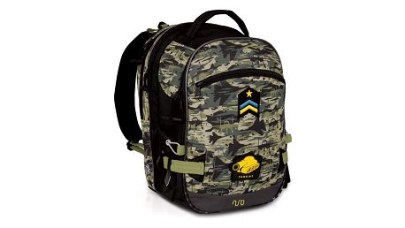 Školní batoh Topgal NUN 200 R - Khaki