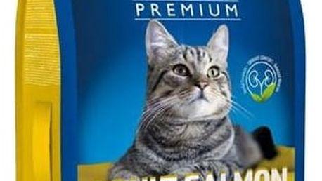 Granule Brit Premium Cat Adult Salmon 8kg