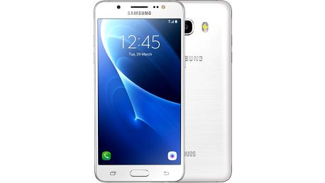 Samsung Galaxy J5 (2016) LTE, bílá - SM-J510FZWUETL + Zdarma GSM reproduktor Accent Funky Sound, červená (v ceně 299,-)