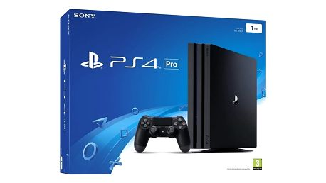 PlayStation 4 Pro, 1TB, černá - PS719887256 + Hra Horizon: Zero Dawn v ceně 1700 kč
