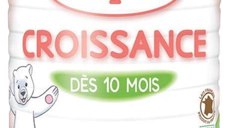 BABYBIO Croissance 3 růstové mléko v prášku 900 g