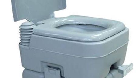 Chemická toaleta Rulyt 12/20 L šedá + Speciální toaletní papír Campingaz pro chemické toalety EURO SOFT (4 role) v hodnotě 119 Kč
