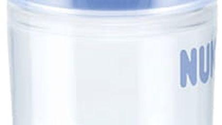 NUK New Classic Láhev Love PP 150 ml, silikon, velikost 1, (6-18 m), M – modrá