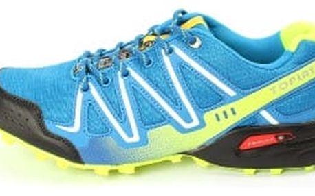 Kvalitní pánské běžecké boty TOP PLAY světle modré