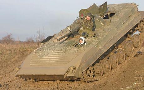 Řízení bojového vozu BVP