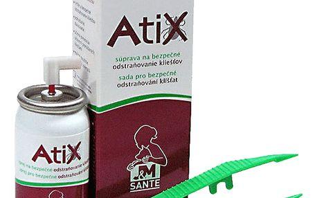 ATIX spray na bezpečné odstraňování klíšťat