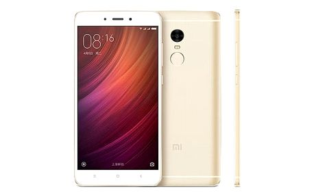 Mobilní telefon Xiaomi Redmi Note 4 32 GB CZ LTE (472631) zlatý