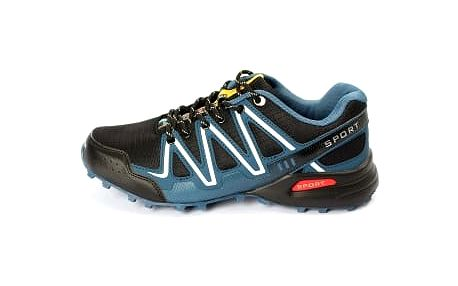 Kvalitní pánské běžecké boty TOP PLAY černo/modré
