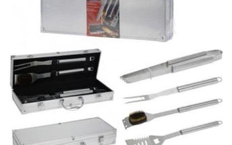 Grilovací nářadí v kufříku sada 4 ks ProGarden KO-C80210330