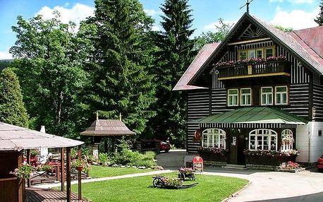 2–5denní romantický pobyt se saunou v Krkonoších v hotelu Tři růže***+ pro 2