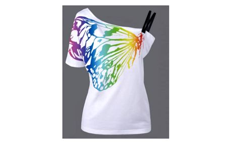 Dámské tričko s motýlem Keri