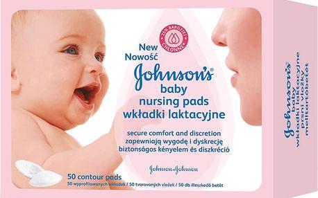 Johnson´s Baby prsní vložky pro kojící matky 50ks
