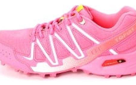 Kvalitní dámské běžecké boty TOP PLAY růžové