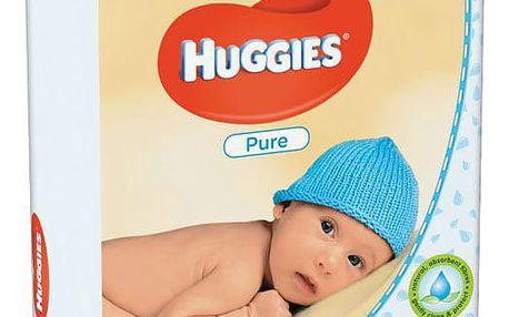 Huggies QUATRO Pack Pure 4x56ks
