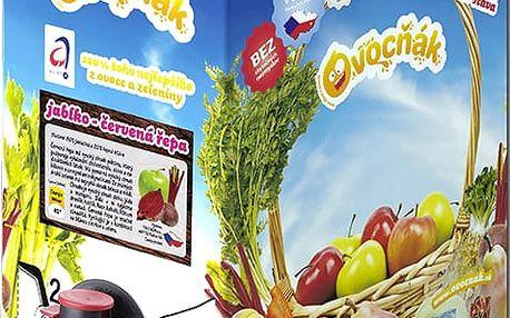 OVOCŇÁK Jablko-červená řepa 3 L - ovocná šťáva
