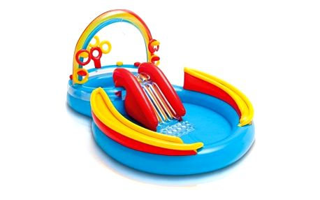 Intex Rainbow Ring Play Center 2,97x1,93x,135 m - dětský
