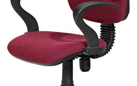 Židle STAR vínová K10
