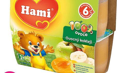 Hami 100% ovoce Ovocný koktejl - 6 x (4x100g)