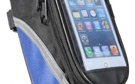 Cyklobrašna - vychytávka a dárek pro cyklisty. Kvalitní voděodolné, polstrované pouzdro pro mobil.