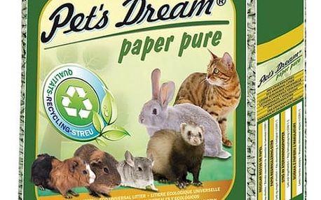 Pets dream Pelety JRS Pet´s Dream Paper Pure 10kg