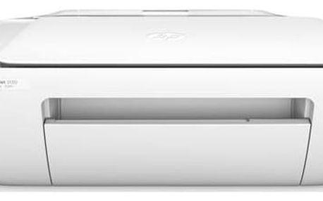 Tiskárna multifunkční HP Ink Advantage 2130 (F5S40B#BHE) bílá Software F-Secure SAFE 6 měsíců pro 3 zařízení (zdarma) + Kabel za zvýhodněnou cenu