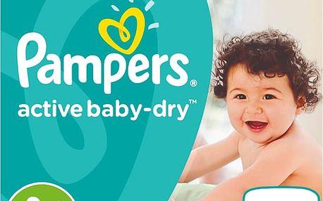 PAMPERS Active Baby 4+ MAXIPLUS 70ks (9-16kg) GIANT PACK - jednorázové pleny