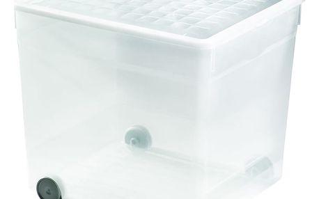 Úložný plastový box 33L s kolečky CURVER