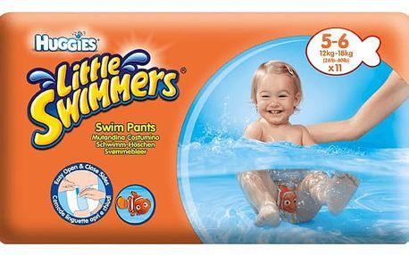 Huggies plenky Little Swimmers 12 - 18 kg/11ks